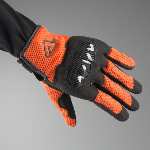 Acerbis Ramsey My Vented Gloves Orange