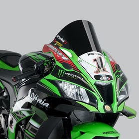 Owiewka Puig Racing Kawasaki Czarna