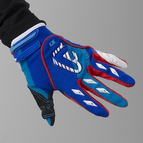 Acerbis MX-X2 Youth Motocross Gloves Blue-Red