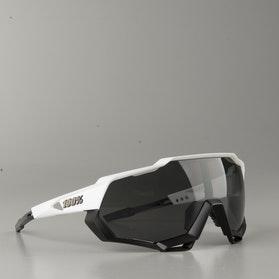 Brýle Cyklistické 100% speedtrap Matně Bílé-Černé