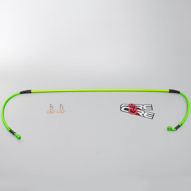 Core Moto Front Brake Line Green