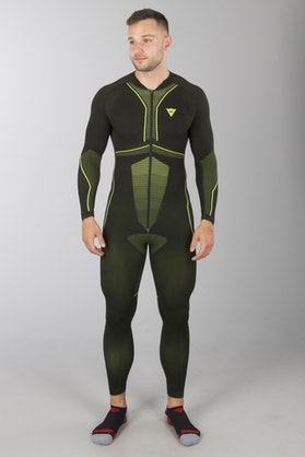 Dainese D-Core Dry Base Layer Black-Yellow