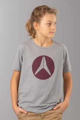 T-Shirt Alias Circled Heather Dziecięcy Szary