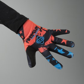 Freegun Nerve Youth Gloves Neon Orange-Blue