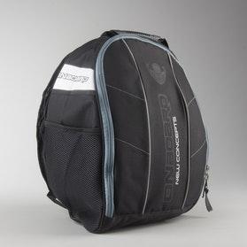 On Board Helmet Backpack Black-Grey-White