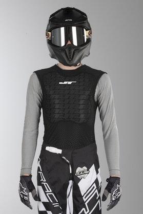 Kamizelka Ochronna JT Racing Soft Czarno-Biała