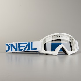 O'Neal B 10 Solid Youth MX Goggles White & Blue