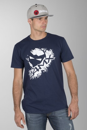 24MX Head T-Shirt Blue