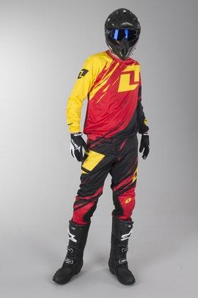 OneIndustries Vapor Lite Side Swipe Motocross Kit Red-Black