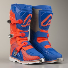 Støvler Acerbis Shark Junior, Blå/Orange