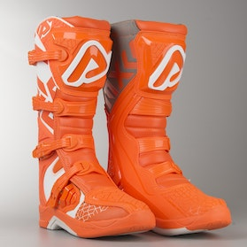 Acerbis X-Team MX Boots Orange-White