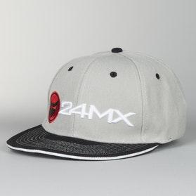 Cap 24MX Braap Grey