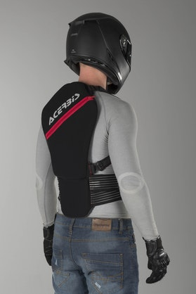 Acerbis Soft 2.0 Back Protector Grey