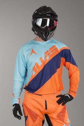 Alias A1 Floated MX Jersey Blue-Orange
