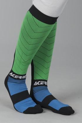 Ponožky Acerbis MX Impact Černá-Modrá