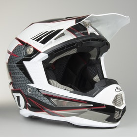 6D ATR-1 Helmet Blade White-Black