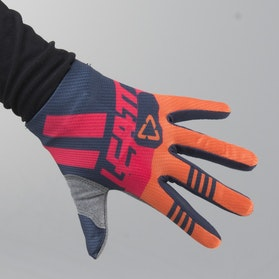 Leatt GPX 1.5 Junior MX Gloves Ink-Orange