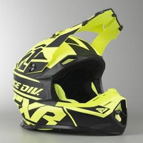 Motokrosová Helma FXR Blade 2.0 Race Div Námořní Modř Neonová