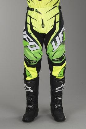 Crossové Kalhoty UFO Voltage Zelená Neonová