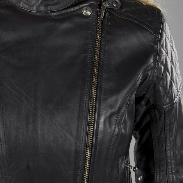 new lower prices best website cost charm Roland Sands Riot Women's Leather Jacket Black - Now 61% Savings ...