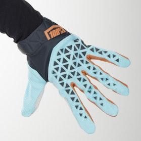 100% Airmatic MX-Gloves Steel Grey-Ice Blue-Bronze