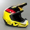 EVS T5 Helmet Black-Yellow-Red