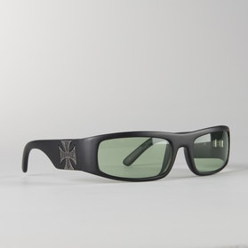 West Coast Choppers Sunglasses Green Black-Green