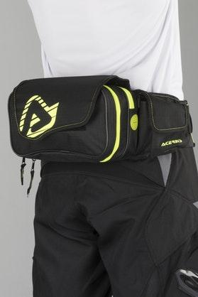 Acerbis Dromy Bum Bag Black-Yellow