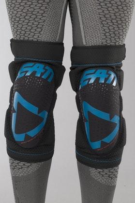 Leatt 3DF 5.0 Zip Knee Protection Fuel-Black