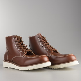 Ride&Sons  Desert Moc Mid Boots Brown