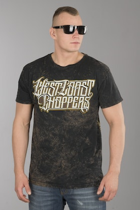 T-Shirt West Coast Choppers Onride Solid Brązowy