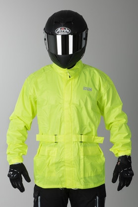 IXS Nimes 2 Rain Jacket Fluorescent Yellow