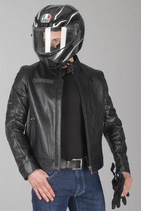 Dainese Legacy Leather Jacket Black