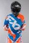 Bluza cross FXR Clutch niebiesko-Flou pomarańczowo-biała