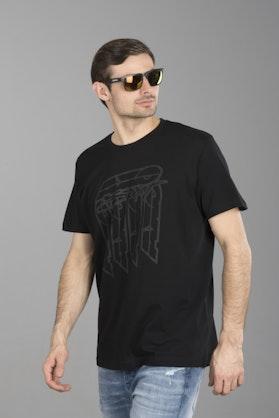 T-Shirt Axo Logo Czarny