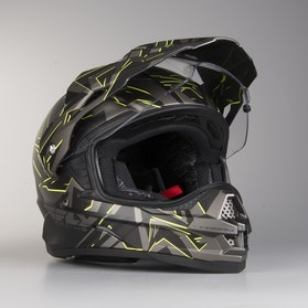 FLY Trekker Adventure Helmet Grey-HiVis