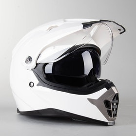 RXA X-Road Enduro 455 Adventure Helmet White