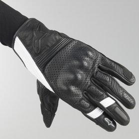 Rękawice Alpinestars Mustang V2 Czarno-Białe