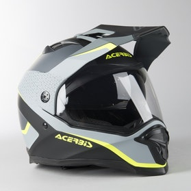 Acerbis Reactive Graffix Adventure Helmet Blac-Grey