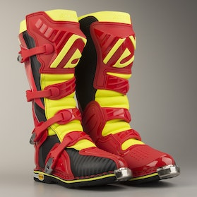 Acerbis X-Pro V Boots Red-Yellow