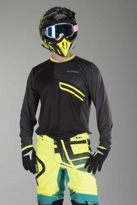 Acerbis One Enduro Trousers Black-Yellow