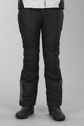 Spodnie/dłuższa nogawka/ Macna Abby Czarny Kobieta