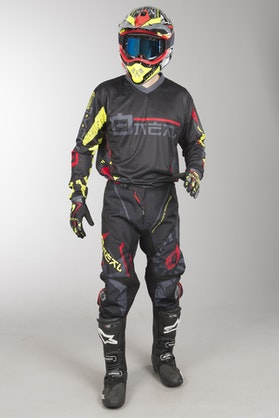 Motokrosové Oblečení O'Neal Element Zen Neon Žlutá