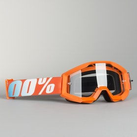 100% Strata Youth Goggles Orange