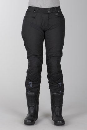 spodnie Długie IXS Tromsö Czarny Kobieta