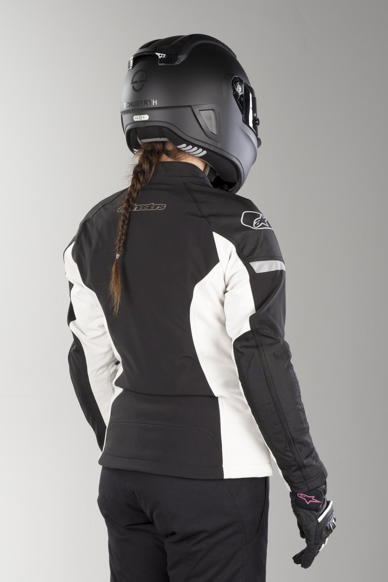 Alpinestars Stratos Techshell Black Drystar Motorcycle Jacket Free Shipping!