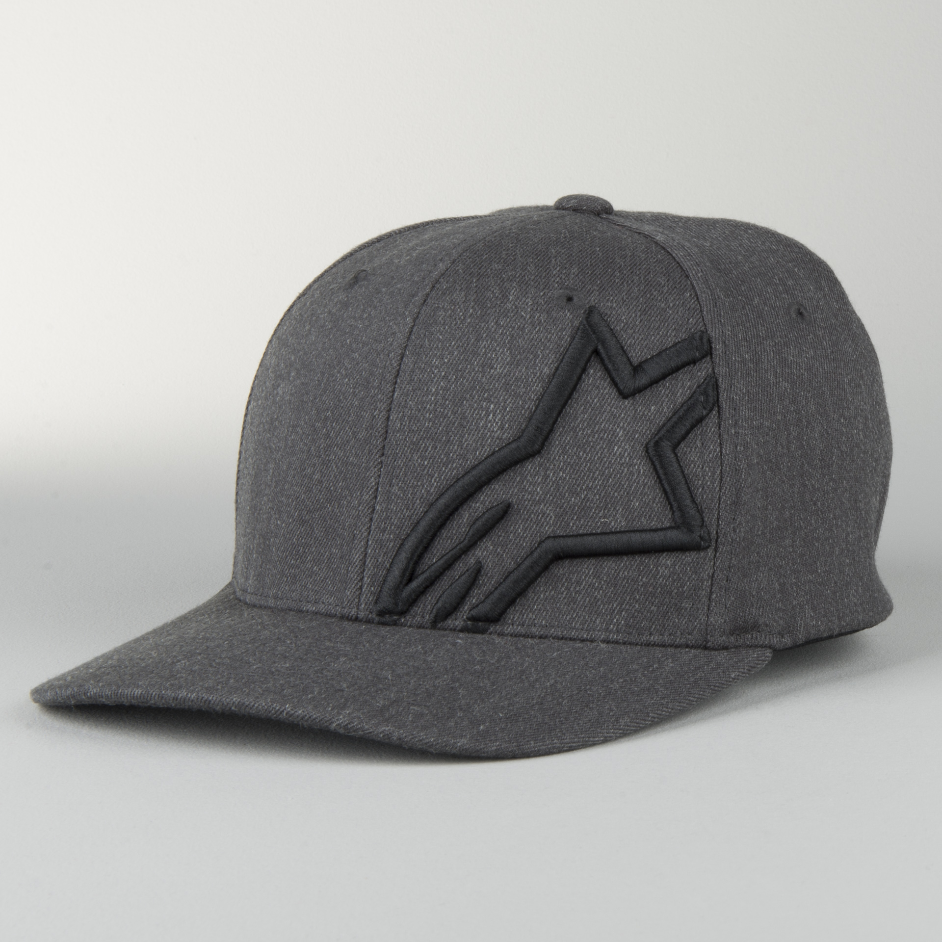 Black// White Alpinestars Corp Shift 2 Flexfit Motor Bike Motocross Cap Hat