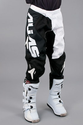Alias Youth Motocross Pant Black & White