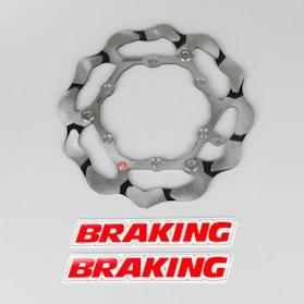 Bremseskive Frem Flydende Braking Batfly Semi 3-Pins