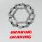 Braking Batfly Semi 3-Pins Brake Disc Front Liquid
